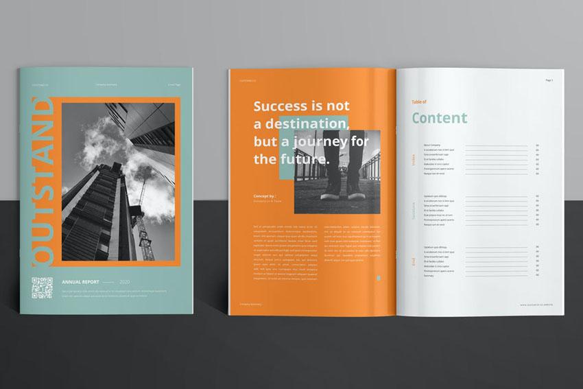 annual report cover ideas