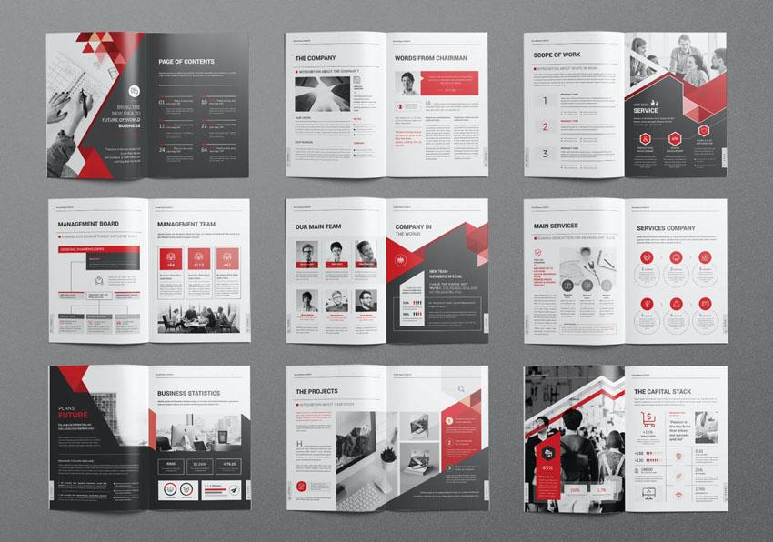 best annual report design