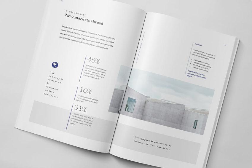 good annual report design