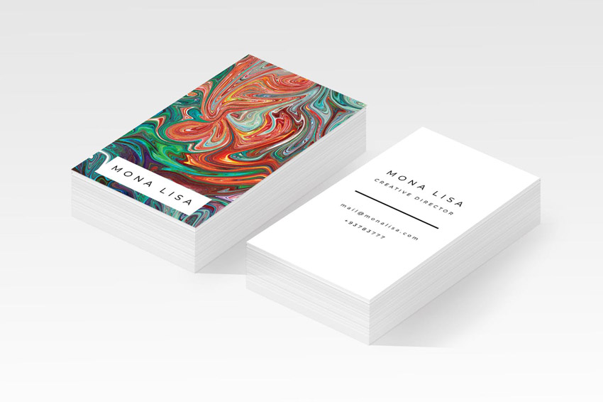 business card template for adobe photoshop