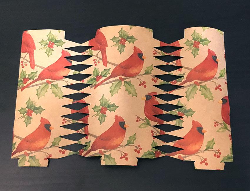 cricut cracker template cut out
