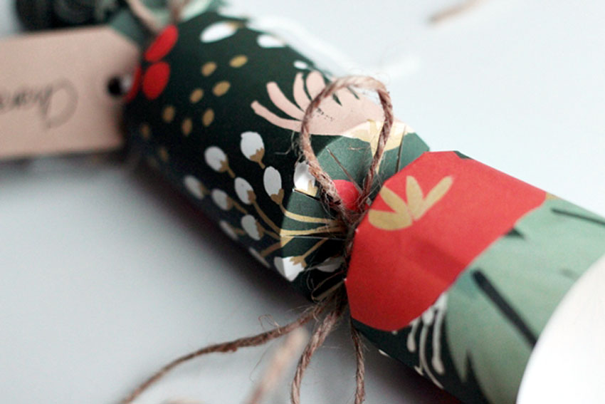 hand made christmas crackers