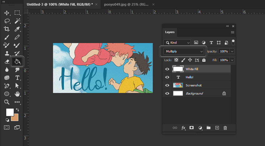 Photoshop Layers Blending Mode