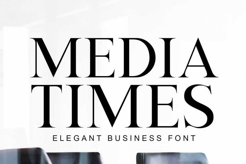 Media Times Transitional Font