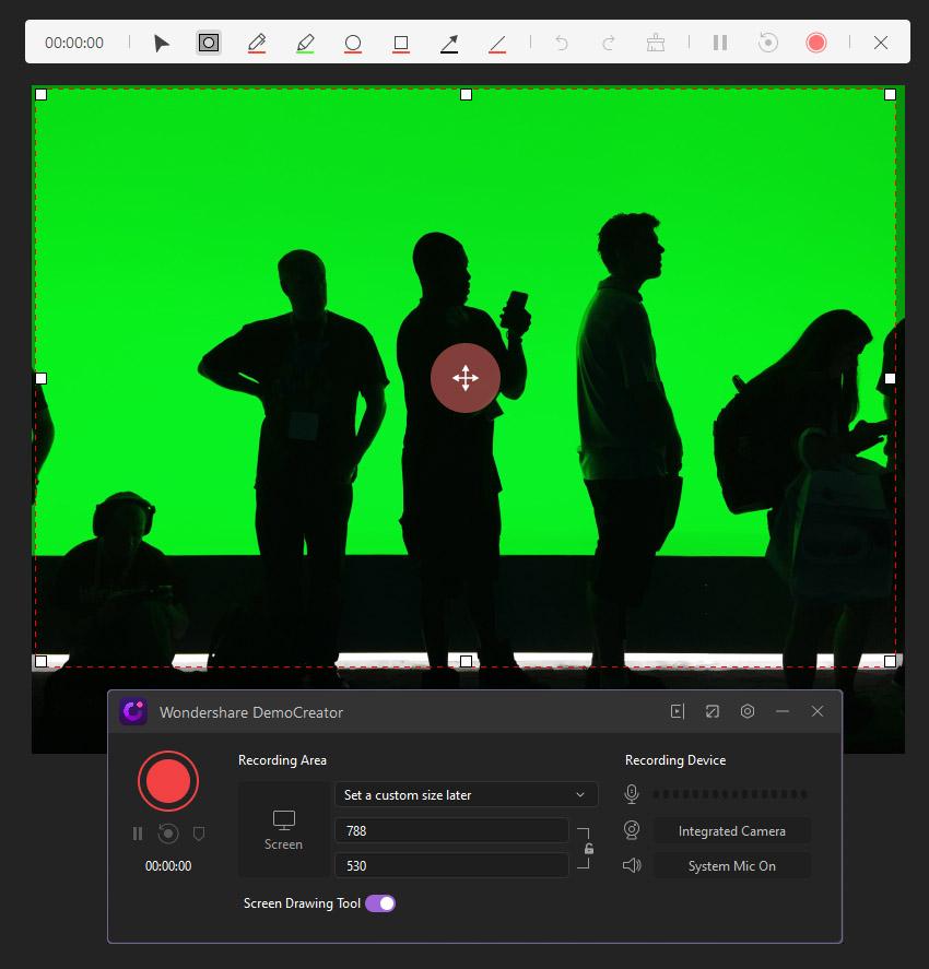 Wondershare DemoCreator footage