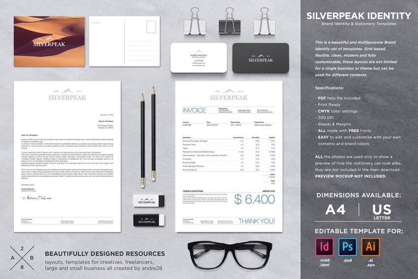 brand identity stationery