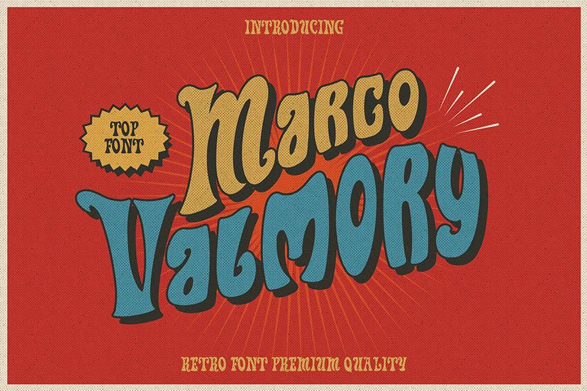 Marco Valmory - Fun Retro Funk Type
