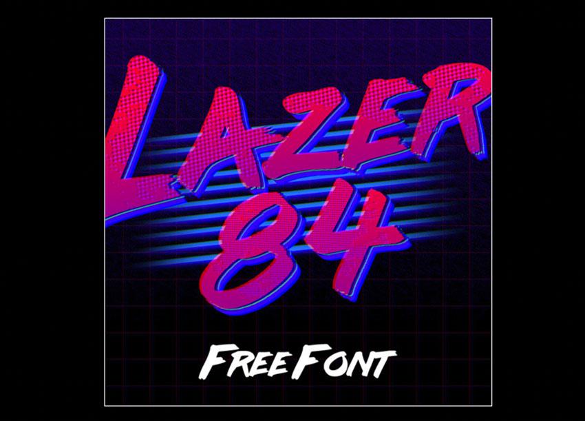 free retro 80s font