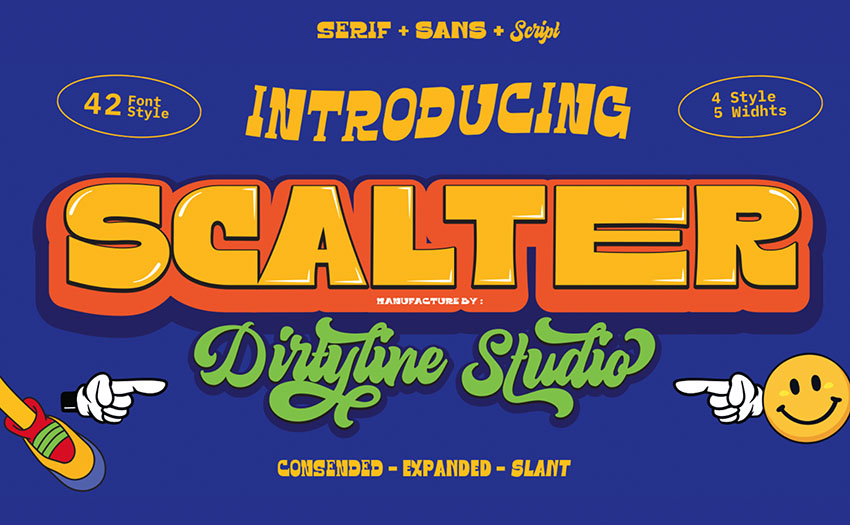 vintage free font