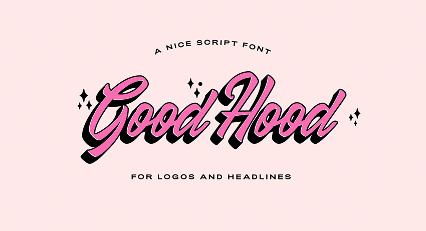 50s vintage font
