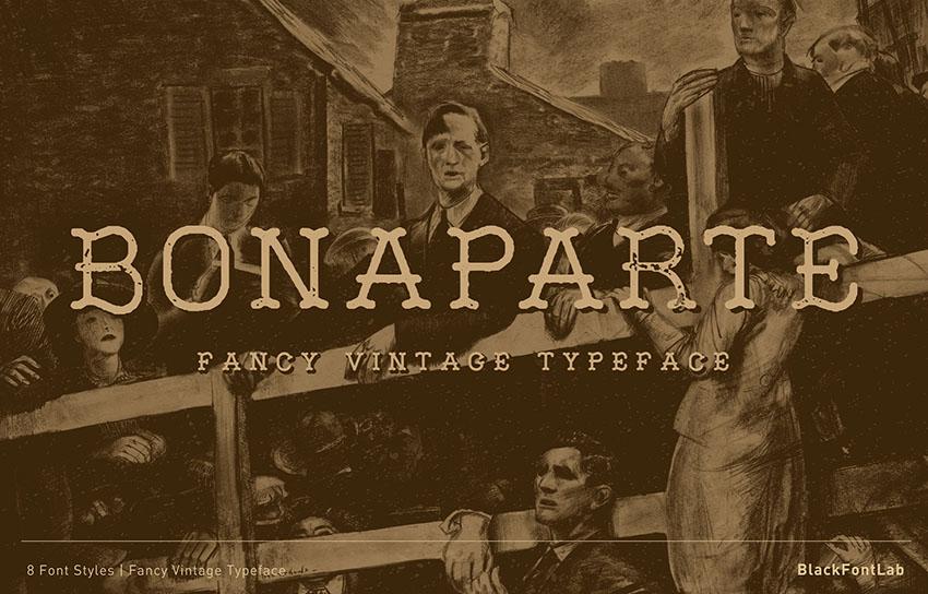 vintage font family