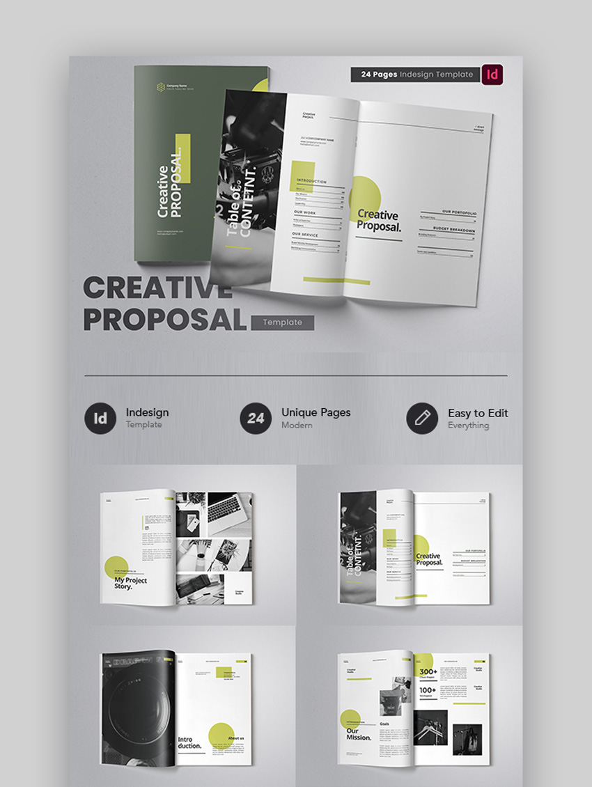 Simple Creative Business Proposal Template