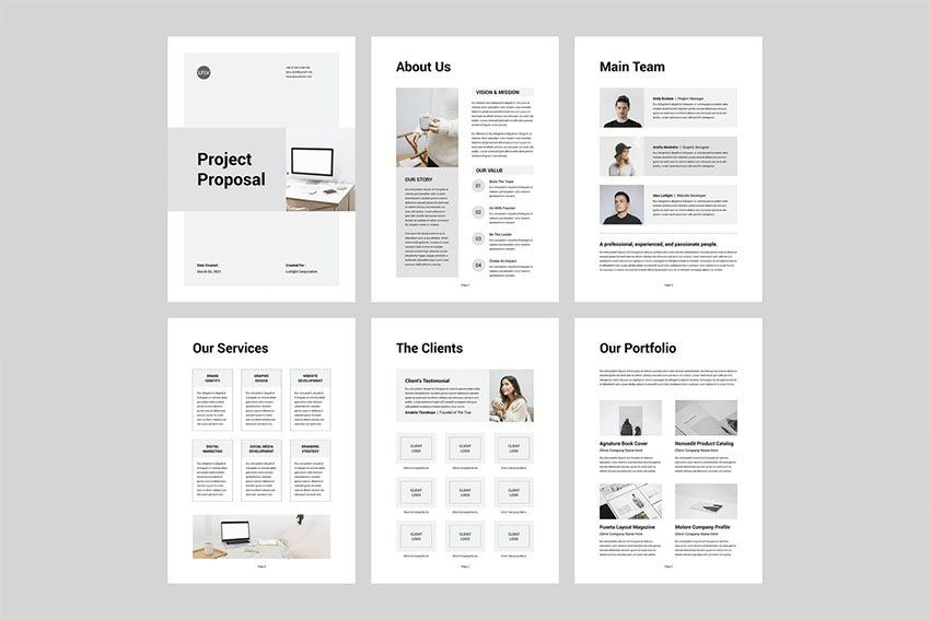 Proposal | MS Word & Indesign