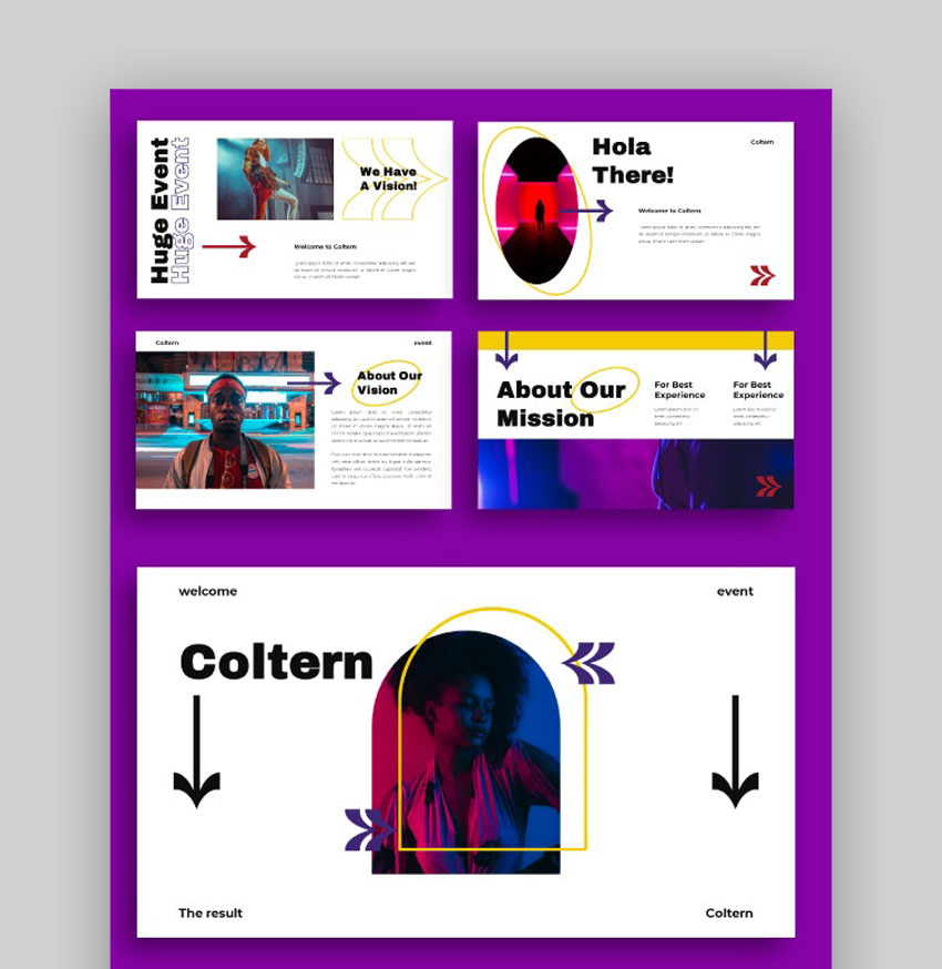Coltern PowerPoint Template