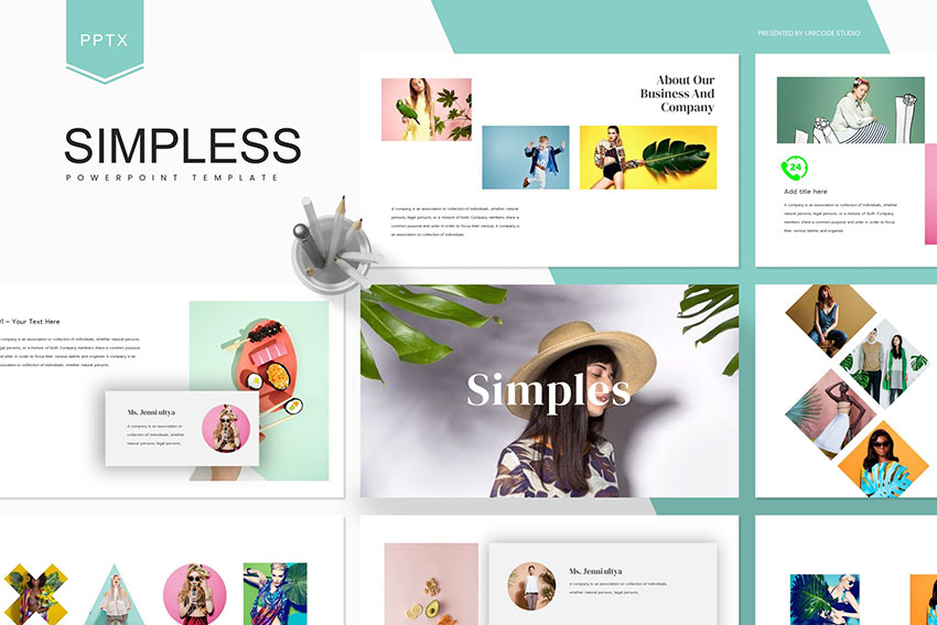 Simpless - Powerpoint Template