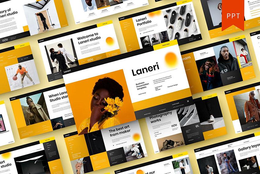 Laneri – Business PowerPoint Template