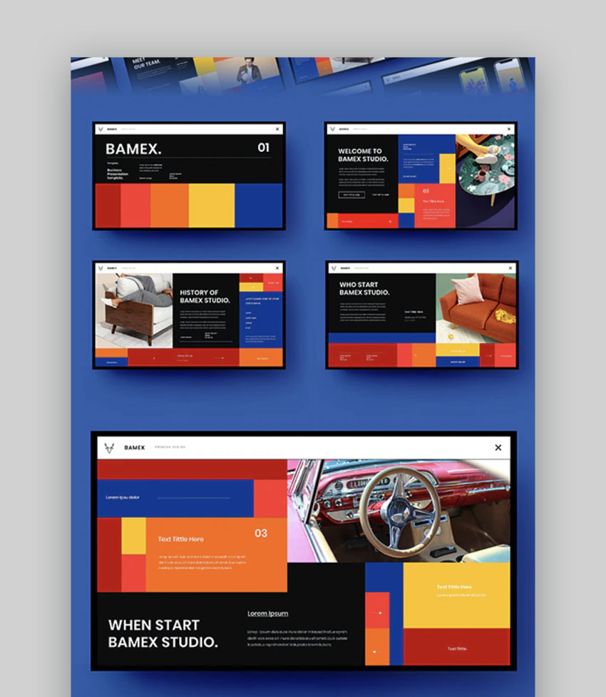 Bamex – Business PowerPoint Template