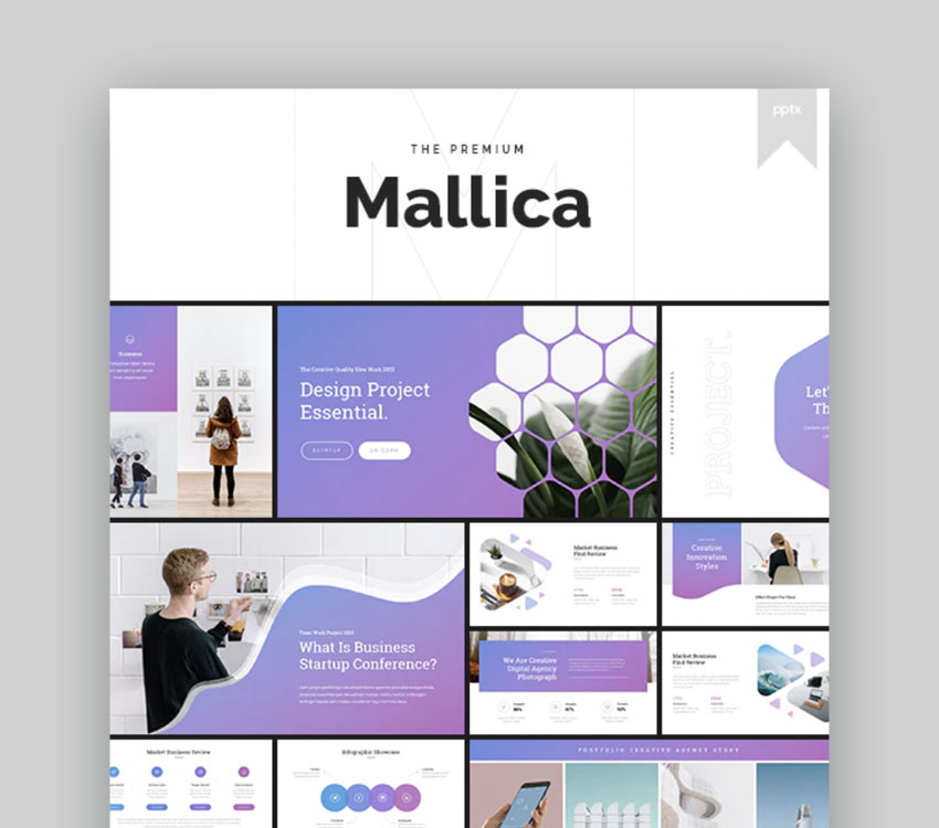 Mallica Powerpoint Template