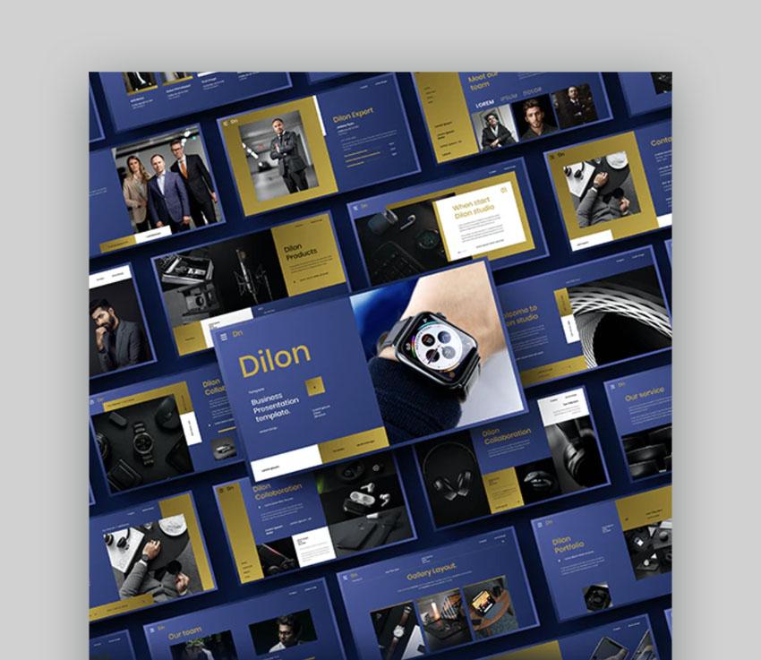 Dilon – Business PowerPoint Template