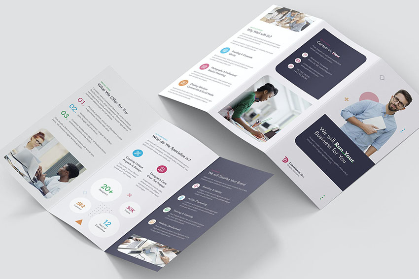 Brochure – Studio Tri-Fold