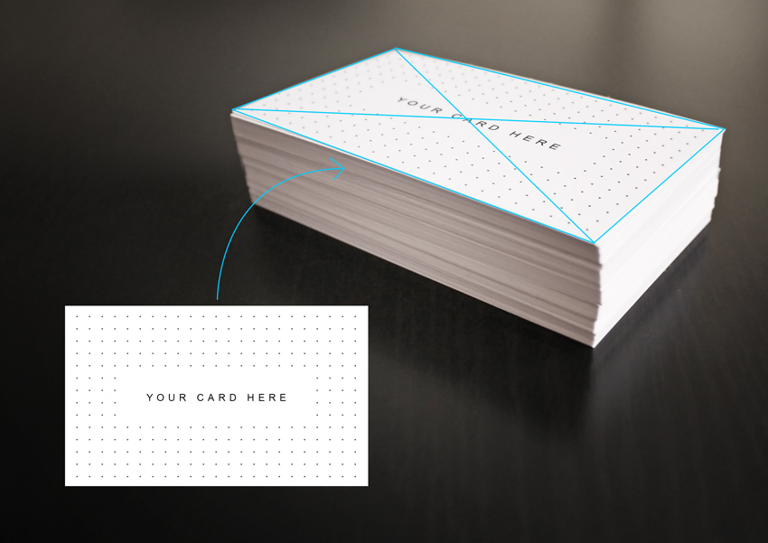 How to design elegant business card mockups using smart objects in what is a psd template mockup reheart Images