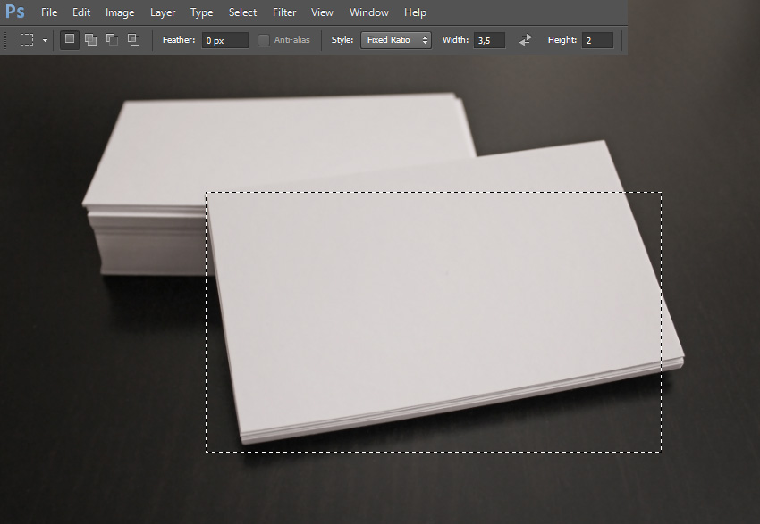 How to design elegant business card mockups using smart objects in selection that will be the template for the business card the selection must be the same reheart