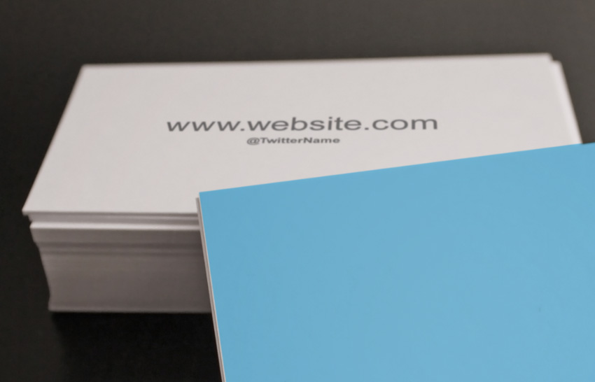 Updated mockup with Business Card Back Design
