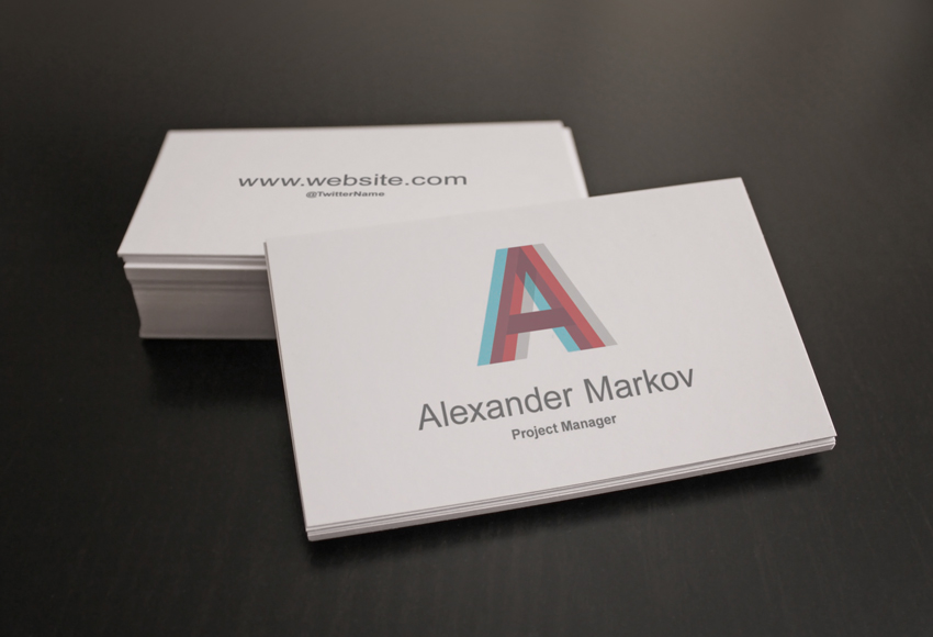 How to Design Elegant Business Card Mockups Using Smart Objects in ...
