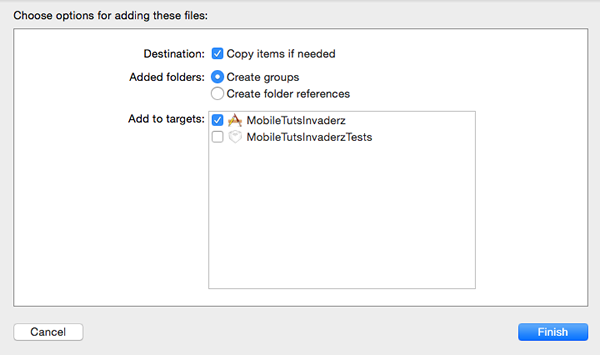 Adding Images Folder