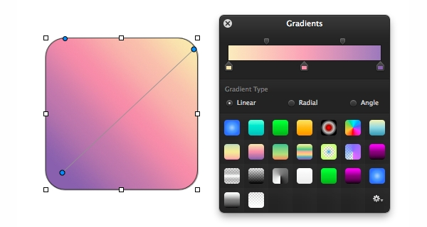 Gradients Palette