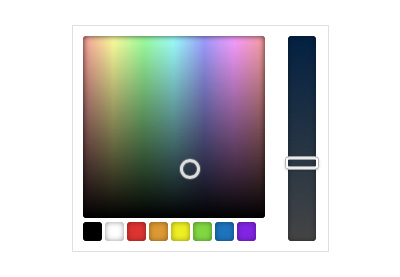 Wordpress color picker preview