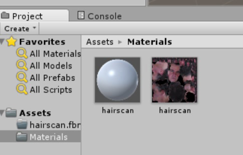 Two materials in Unity