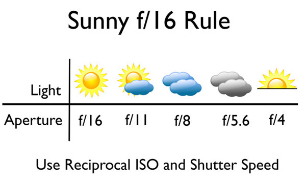 Learning the Sunny f16 Rule will transform you into a living light meter