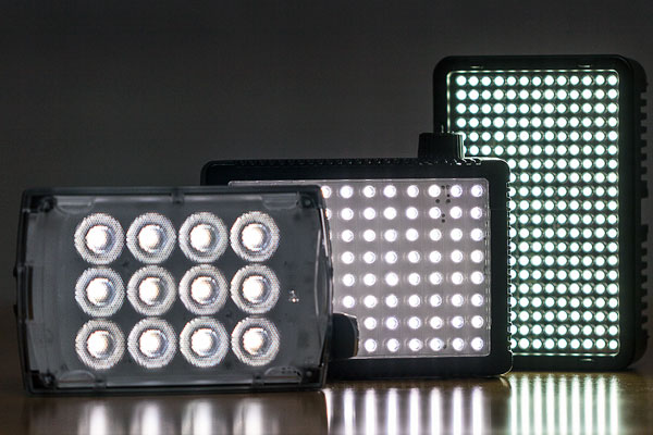 Small LED panels for use with DSLR cameras offer a lot of power in a small & Introduction to LED Panels for Photography and Video azcodes.com