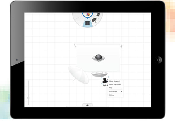 5 tools to create and share studio lighting diagrams the sylights version for ipad and iphone is a free diagram creator for photographers on the ccuart