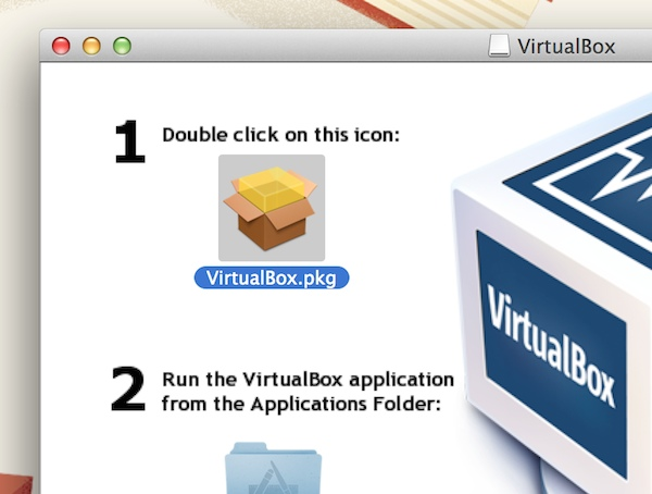 Installing Virtualbox on the Mac