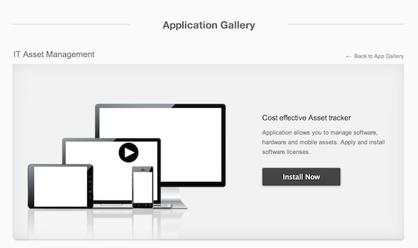 Installing the IT Asset Management template