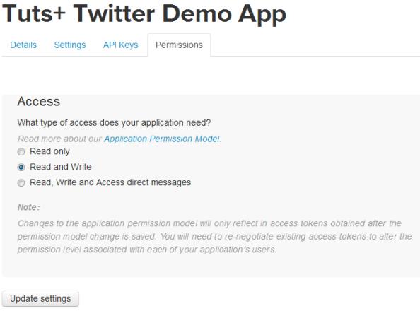 Twitter Demo App
