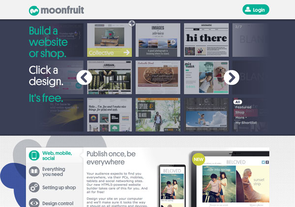 Moonfruit website