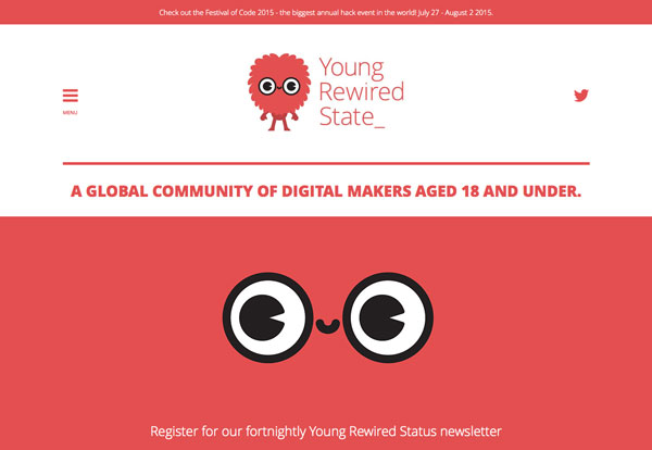 Young Rewired State website