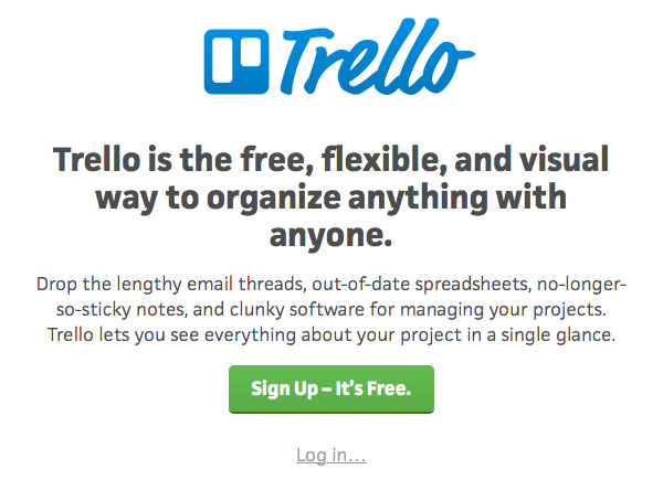 Trello website