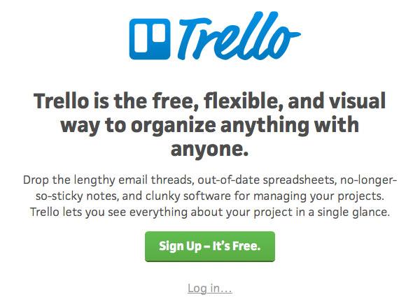 Trello website