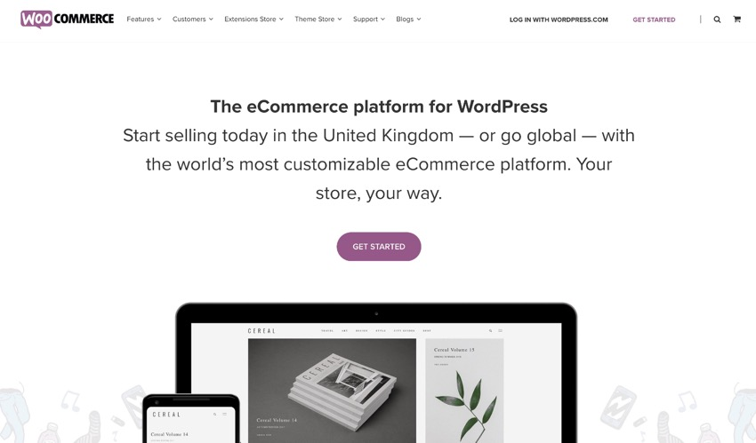 Use WooCommerce to add a store - for free