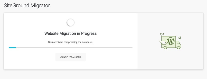 migration progress