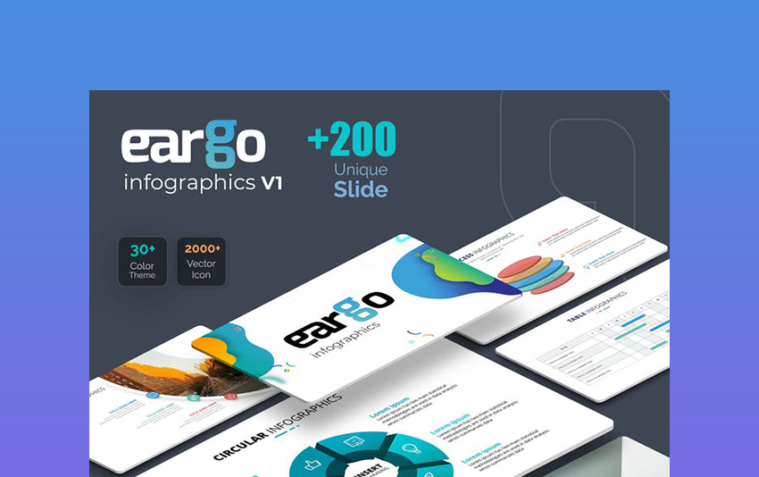 Eargo - Infographic Template PowerPoint