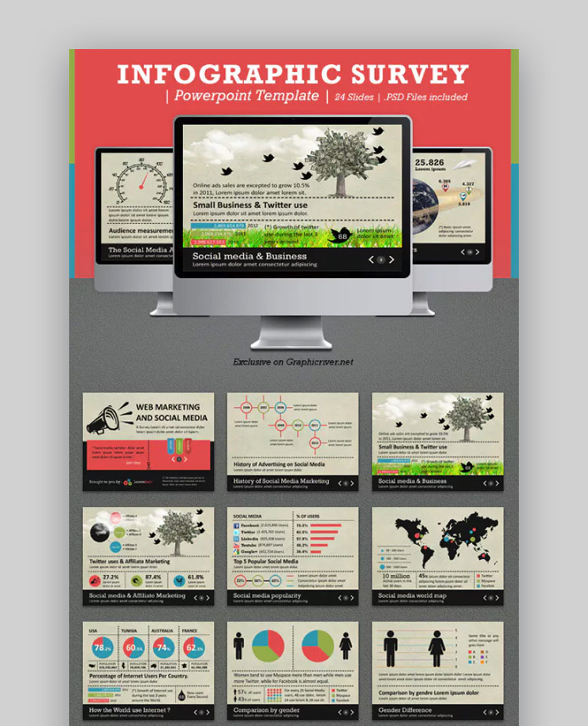 35 Best Infographic PowerPoint Presentation Templates—With