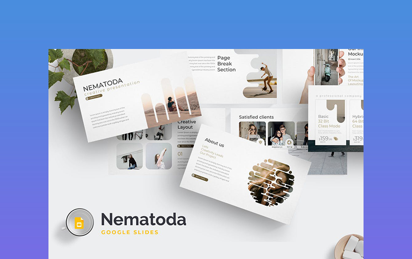 Nematoda Google Slide Theme