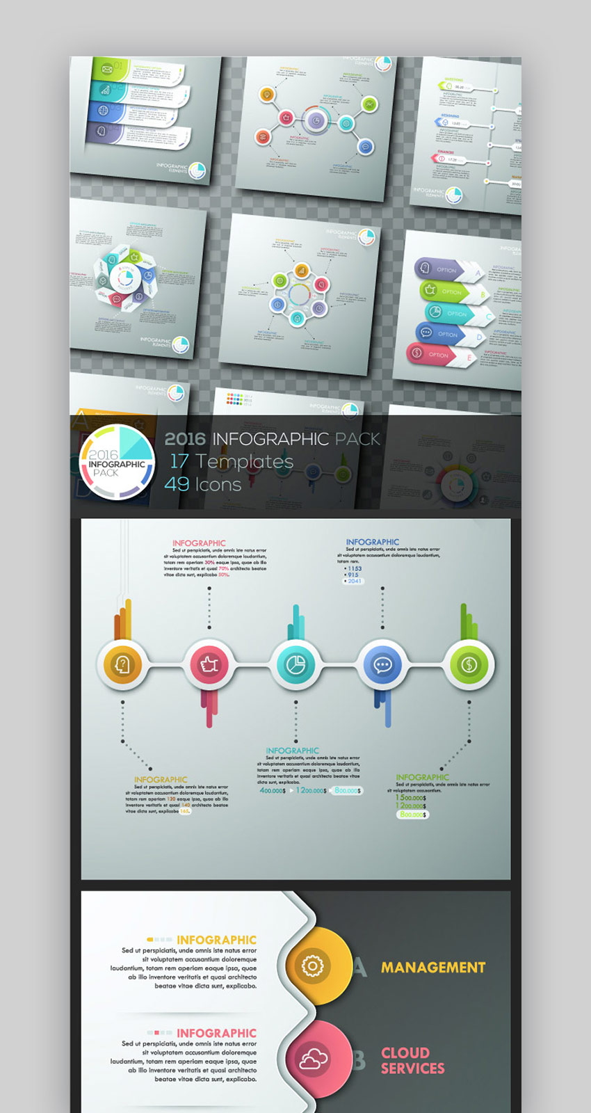 2019 Infographics Template Pack