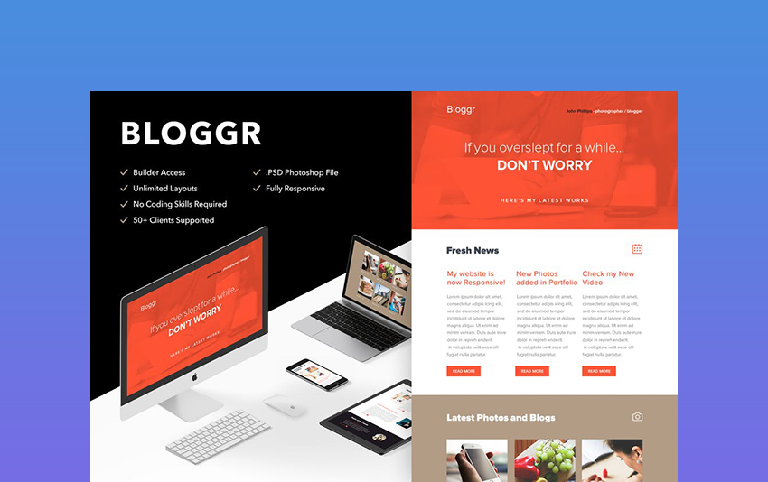 Bloggr - Responsive HTML Email Template