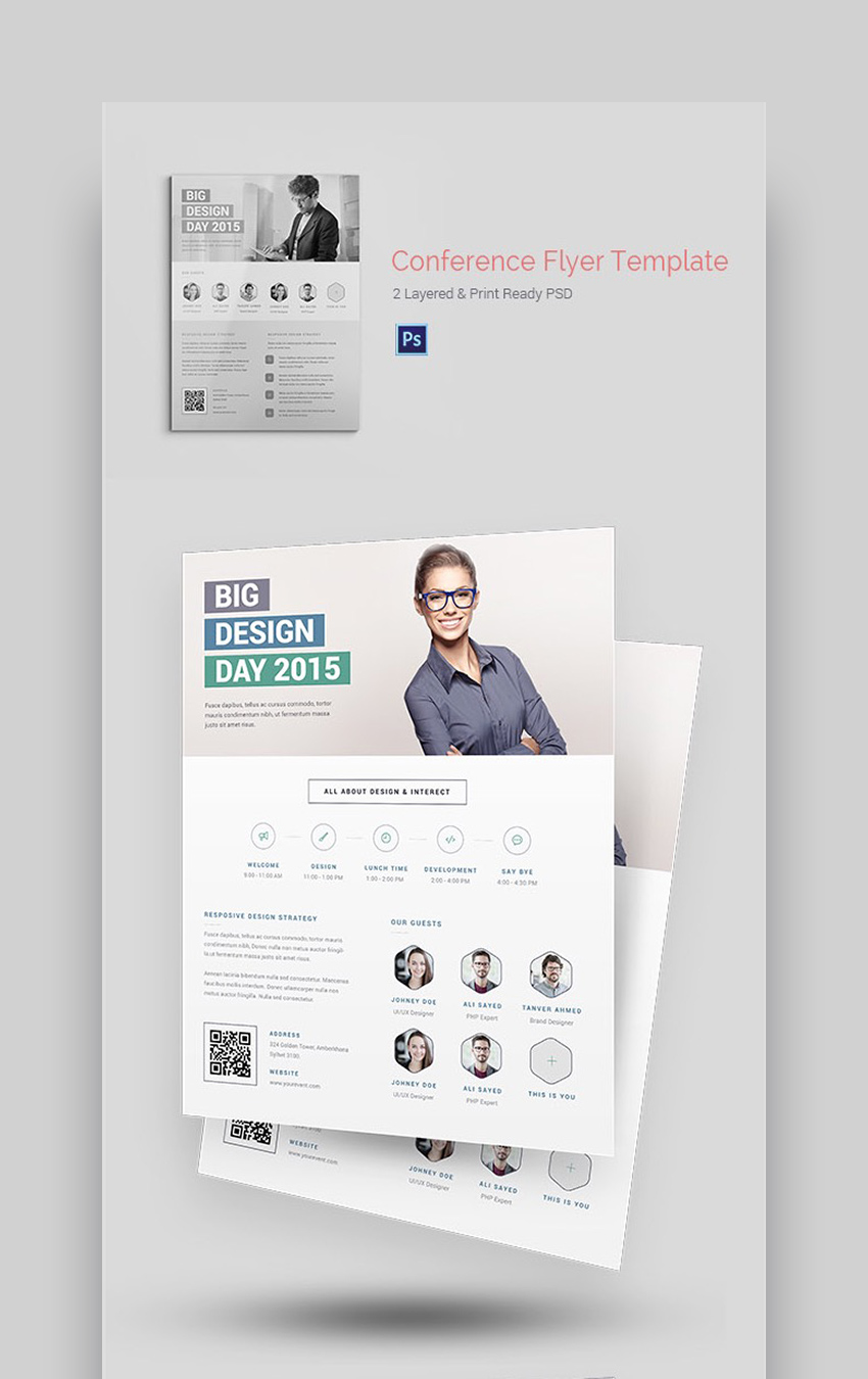 ConferenceEvent - Professional Flyer Information Template